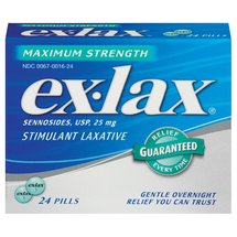Ex-Lax Stimulant Maximum Strength Laxative