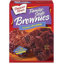 Duncan Hines Family-Style Chewy Fudge Brownie Mix