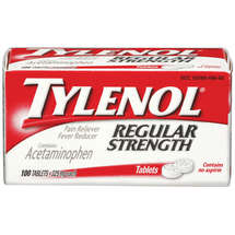 Tylenol Regular Strength Pain Reliever/Fever Reducer