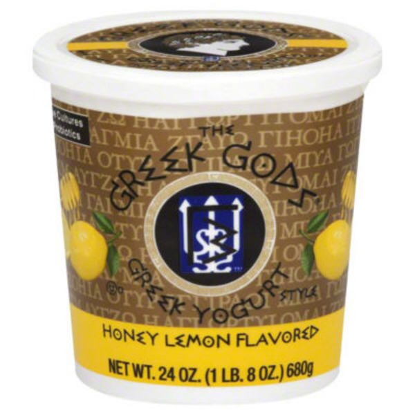 The Greek Gods Honey Lemon Greek Yogurt