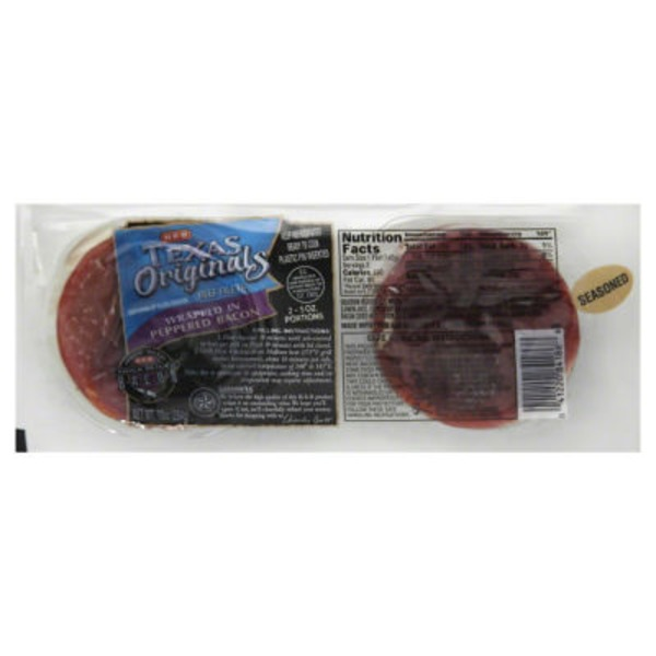 H-E-B Texas Originals Beef Filets Wrapped In Peppered Bacon Beef Filets