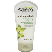 Aveeno(R) Skin Brightening Daily Scrub Tube Cleansers