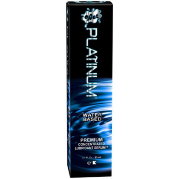 Wet Platinum Water Based Gel Lubricant
