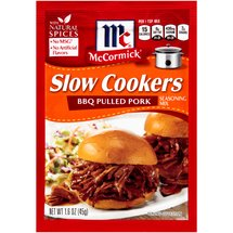 McCormick Slow Cookers BBQ Pulled Pork Seasoning
