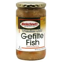 Manischewitz Gefilte Fish With Carrots In Jelled Broth