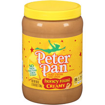 Peter Pan Honey Roast Creamy Peanut & Natural Honey Spread