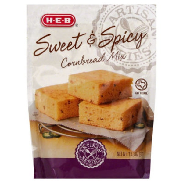 H-E-B Sweet & Spicy Cornbread Mix