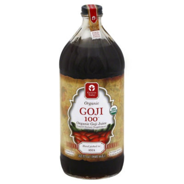 Genesis Today Organic Goji 100 Liquid Supplement