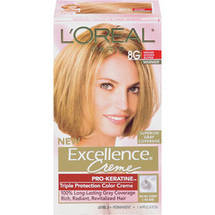 L'Oreal Excellence Creme Warmer Medium Golden Blonde 8G Hair Color