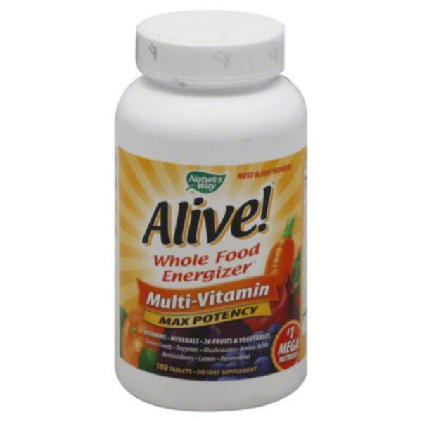 Nature's Way Alive! Whole Food Energizer Multivitamin