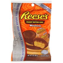 Reeses Sugar Free Peanut Butter Miniatures Chocolate Cups