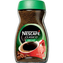 Nescafe Clasico Decaf Pure Instant Coffee