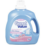 Great Value Spring Showers Ultra Fabric Softener