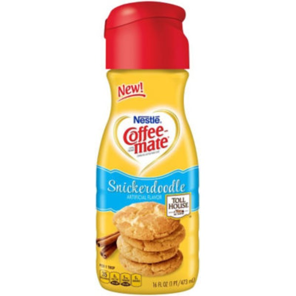 Nestlé Coffee Mate Tollhouse Snickerdoodle Liquid Coffee Creamer