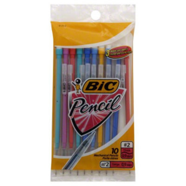 BiC Xtra-Strong Mechanical Pencils #2 Thick - 10 CT