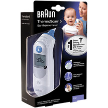Braun Thermoscan5 Ear Thermometer IRT6500US
