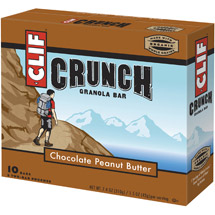 CLIF Crunch Chocolate Peanut Butter Granola Bars