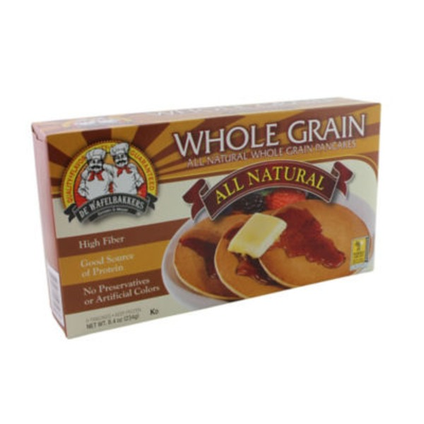 De Wafelbakkers Whole Grain Pancakes