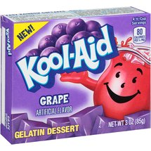 Kool-Aid Grape Gelatin Dessert