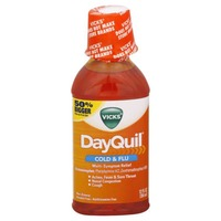 Vicks DayQuil Alcohol Free Non-Drowsy Liquid Cold & Flu