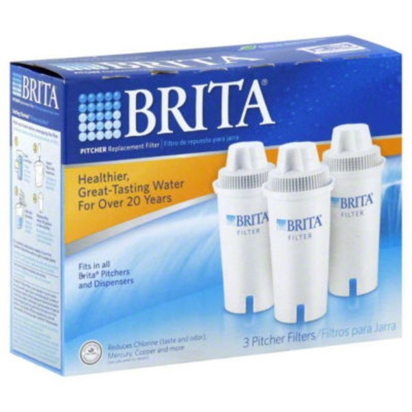 H E B Brita Replacement Water Filter For Pitchers 3 Count Delivery