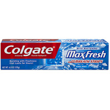 Colgate MaxFresh Cool Mint Fresh Breath Whitening Toothpaste