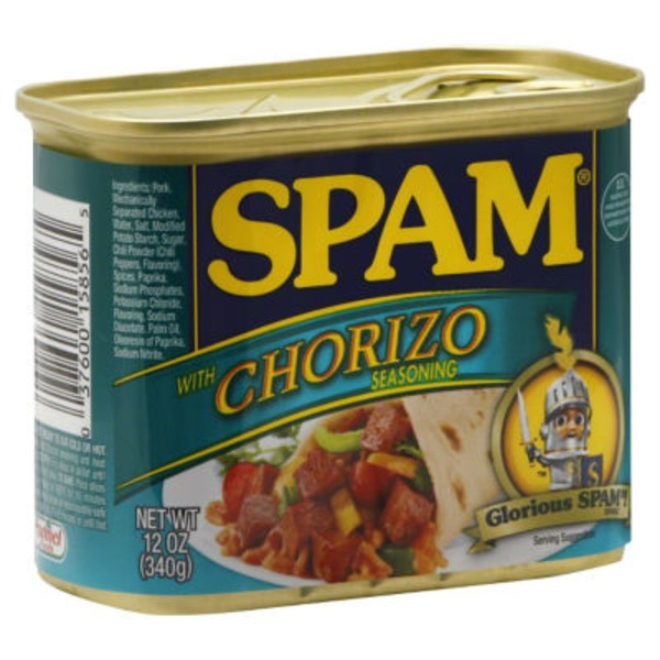 Spam With Chorizo Seasoning Canned Meat
