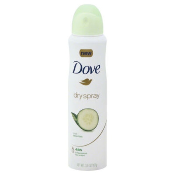 Dove Dry Spray Cool Essentials Antiperspirant
