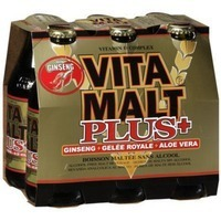 Vitamalt Plus Ginseng Non Alcoholic Beverage 6 Bottles