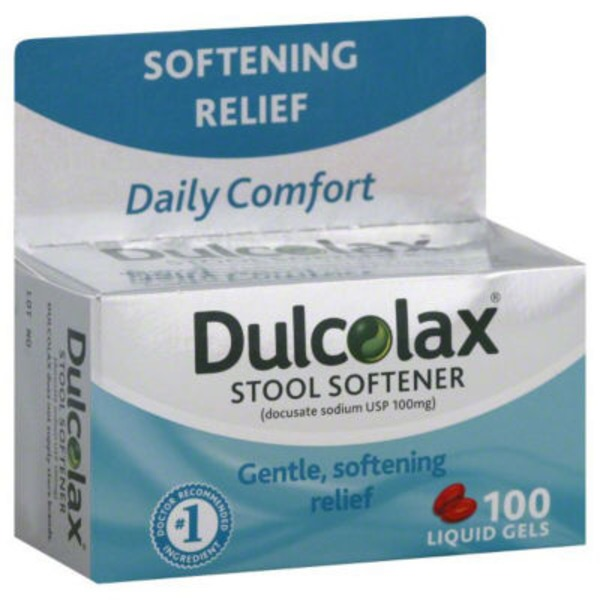 Dulcoease with HydroSoft Action Liquid Gels Stool Softener