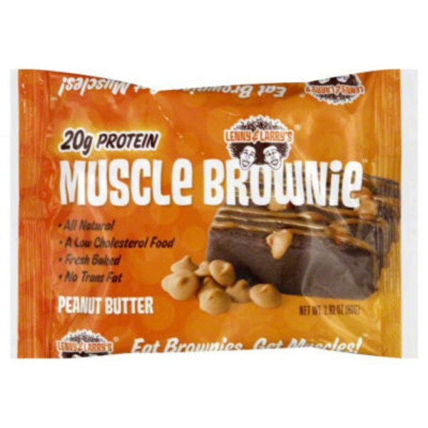 Lenny & Larry's Muscle Brownie, Peanut Butter