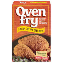Oven Fry Extra Crispy For Chicken Seasoned Coating