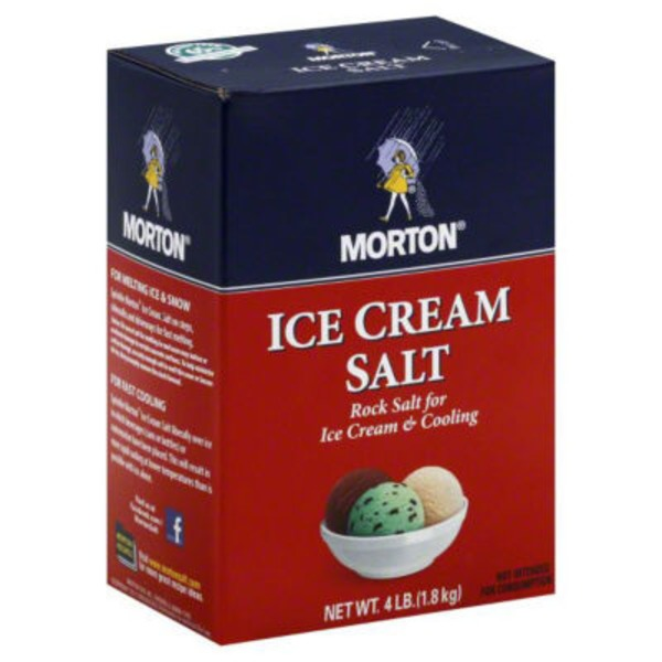 Morton Ice Cream Salt