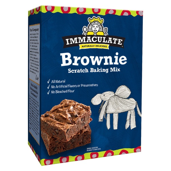 Immaculate Bakery Brownie Scratch Baking Mix