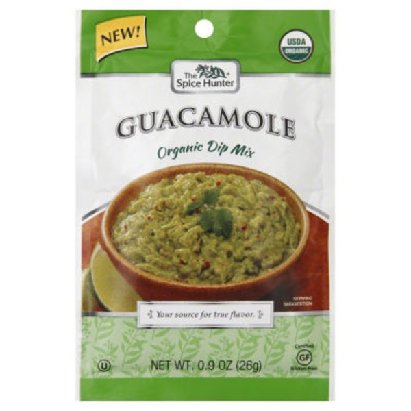 The Spice Hunter Guacamole Organic Dip Mix