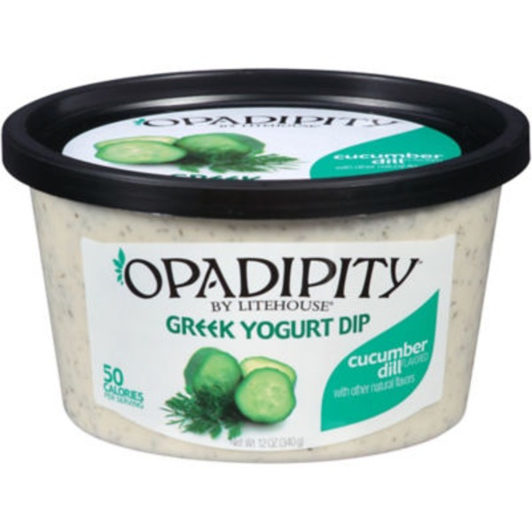 Litehouse Opadipity Greek Yogurt Cucumber Dill Dip