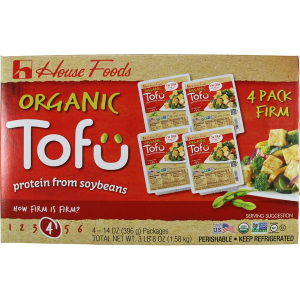 House Foods Organic Premium Firm Tofu