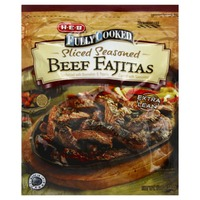 H-E-B Fully Cooked Sliced Seasoned Beef Fajitas