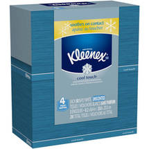 Kleenex Cool Touch Tissues (Pack of 4)