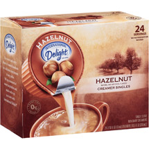 International Delight Hazelnut Creamers