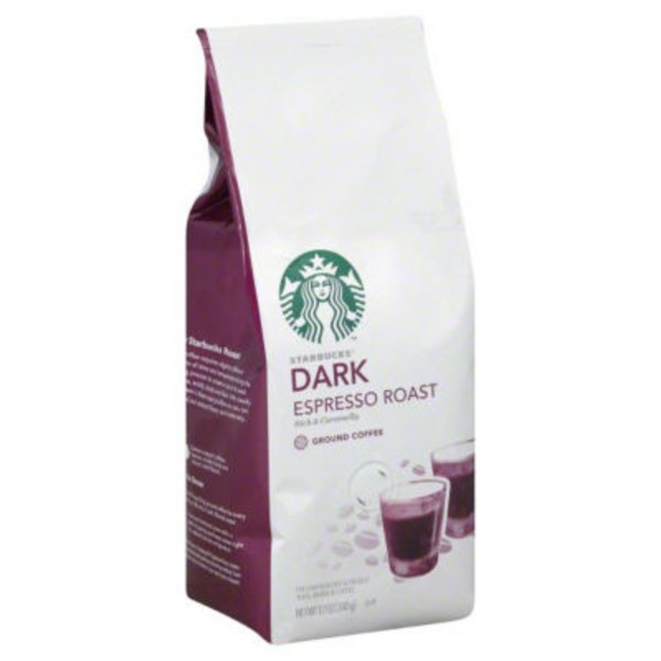 Starbucks Dark Espresso Roast Ground Coffee