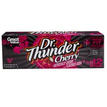 Cherry Dr Thunder Soda
