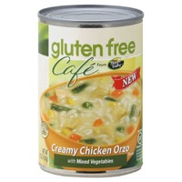 Gluten Free Cafe Creamy Chicken Orzo with Mixed Vegetables