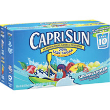 CapriSun Splash Cooler Mixed Fruit Juice Drink