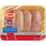 Tyson Trimmed & Ready Boneless Skinless Fresh Chicken Breast Portions