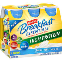 Carnation Breakfast Essentials High Protein Classic French Vanilla Complete Nutritional Drinks