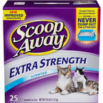 Scoop Away Cat Litter Multi-Cat Scented 28 Pound Carton