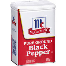 McCormick Pure Ground Black Pepper