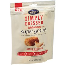 Marzetti Simply Dressed Baked Croutons Super Grains Garlic and Butter