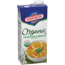 Swanson Organic Vegetarian Vegetable Broth